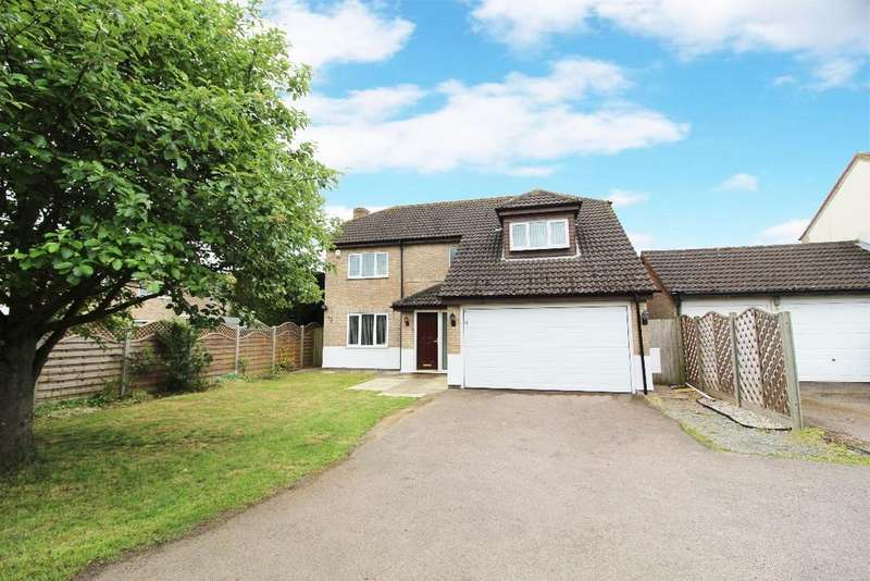 4 Bedrooms Detached House for sale in Wentworth Drive, Bedford MK41