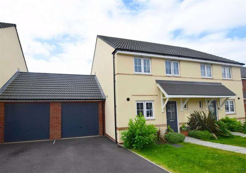 3 Bedrooms Semi Detached House for sale in Oswalds Close, Longford