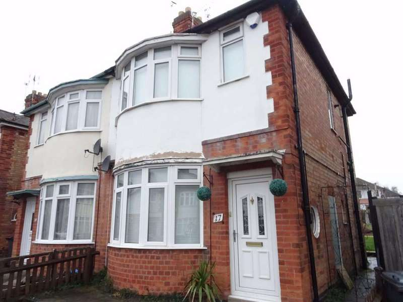 2 Bedrooms Semi Detached House for sale in Cranfield Road, Leicester