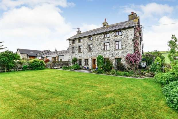 3 Bedrooms Detached House for sale in Wellheads Lane, Sedgwick, Kendal, Cumbria