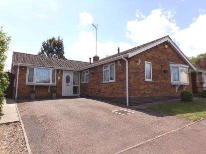 3 Bedrooms Bungalow for sale in Stirling Drive, Thurnby, Leicester, Leicestershire