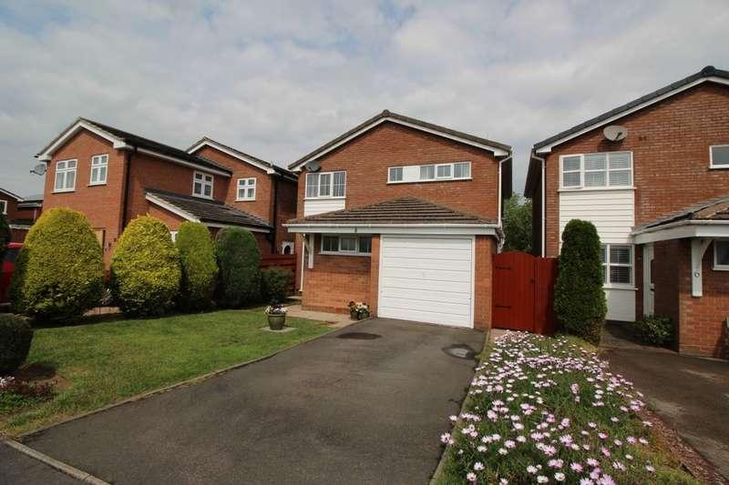 3 Bedrooms Detached House for sale in Claremont Close, Bulkington, Bedworth, CV12