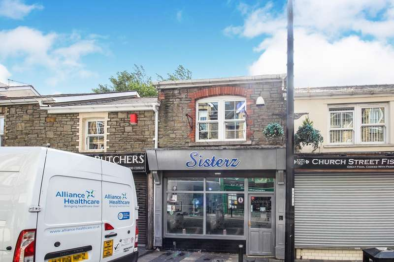 3 Bedrooms Hairdresser / Barber Shop Commercial for sale in Church Street, Abertillery, NP13