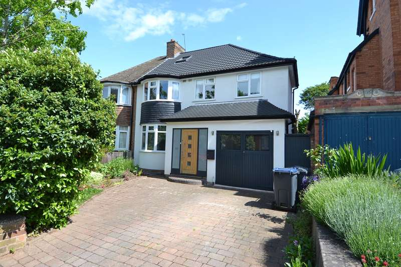 4 Bedrooms Semi Detached House for sale in Grove Avenue, Moseley, Birmingham, B13
