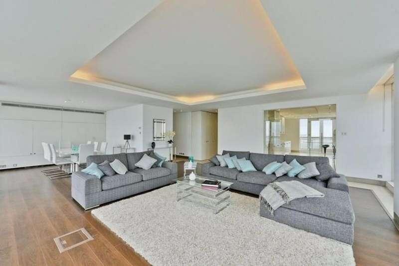 4 Bedrooms Penthouse Flat for rent in Westferry Circus, London