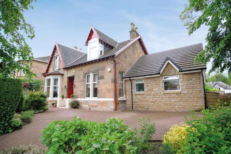 4 Bedrooms Detached House for sale in Old Castle Road , Old Cathcart, Glasgow, G44 5TW