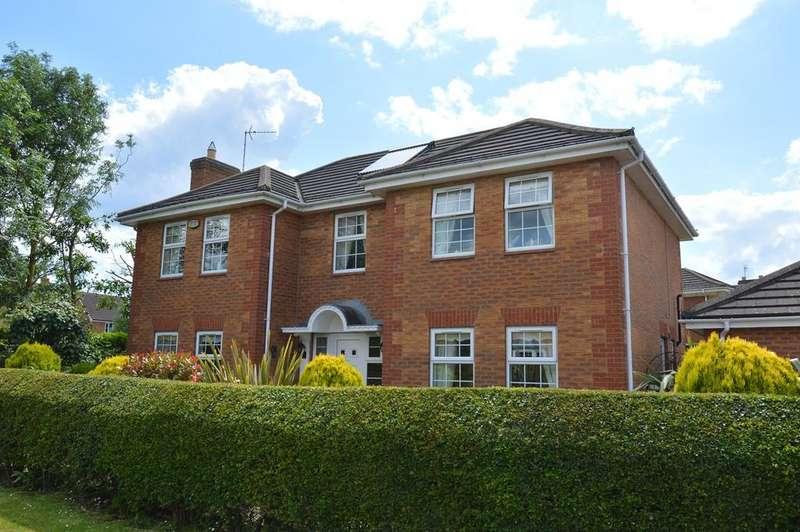 4 Bedrooms Detached House for sale in Sorrel Drive, Spalding, PE11