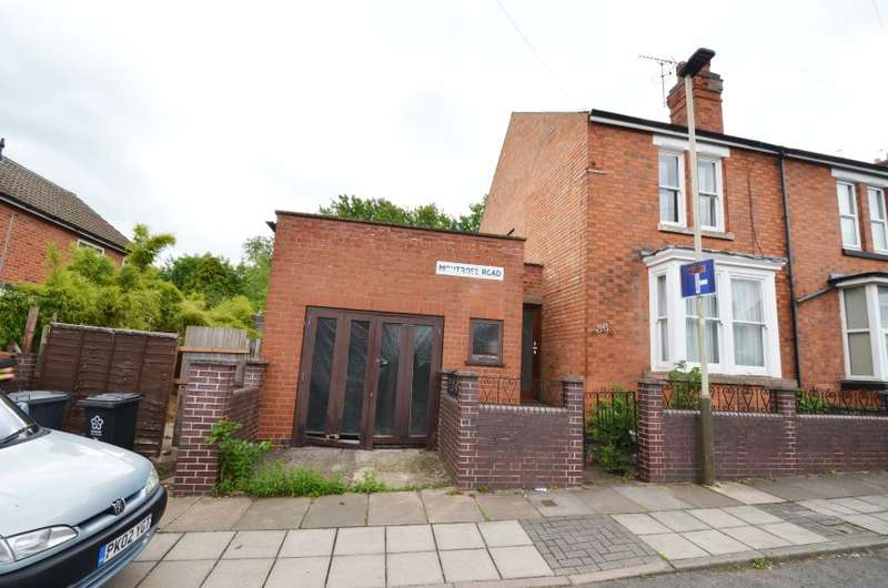 2 Bedrooms Semi Detached House for sale in 36 Montrose Road, Aylestone, Leicester, Leicestershire