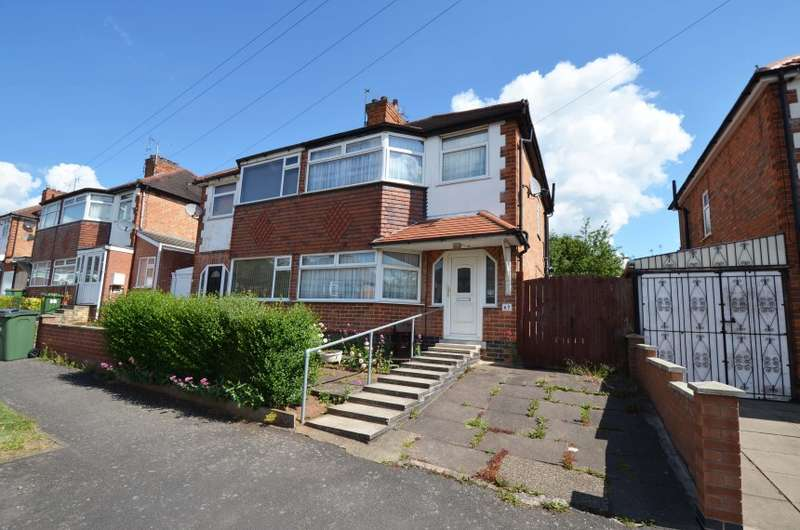 3 Bedrooms Semi Detached House for sale in 67 Cleveleys Avenue, Leicester, Leicestershire