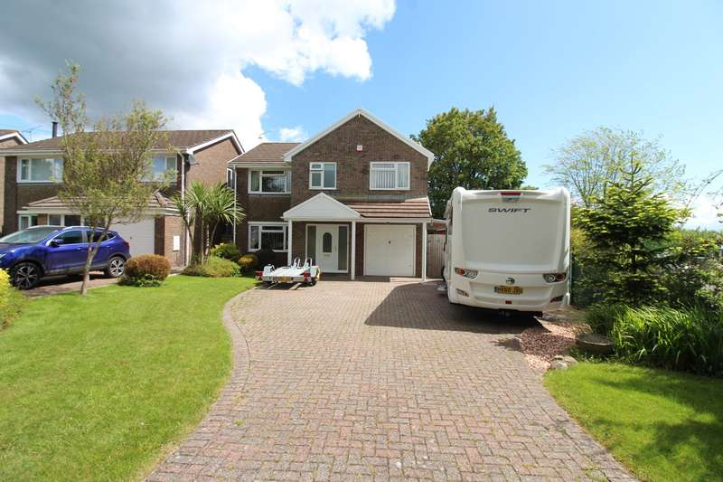 4 Bedrooms Detached House for sale in Ruskin Avenue, Rogerstone, Newport, NP10