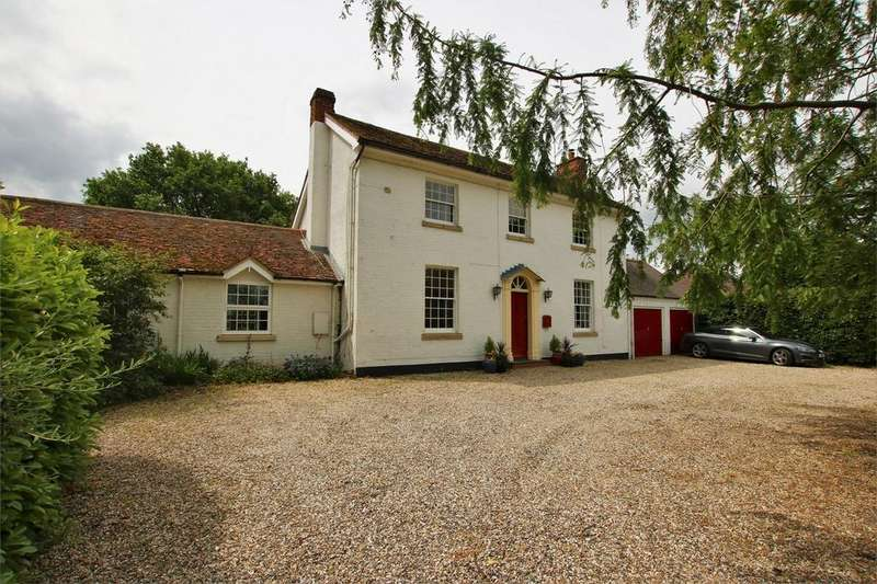 5 Bedrooms Detached House for sale in The Pheasantries, Church Lane, Arborfield, READING, Berkshire