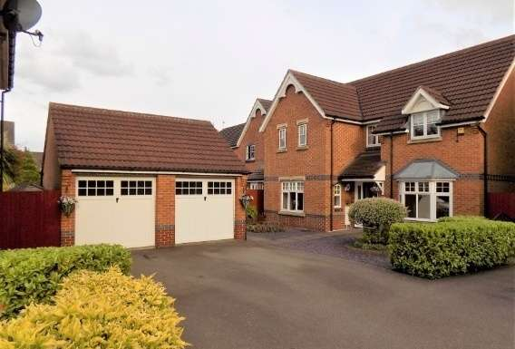 4 Bedrooms Property for sale in Milfoil Close, Hinckley