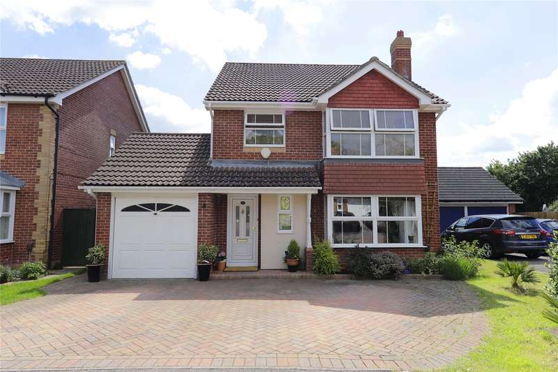 4 Bedrooms Detached House for sale in Thomas Drive, Warfield, Bracknell, Berkshire, RG42