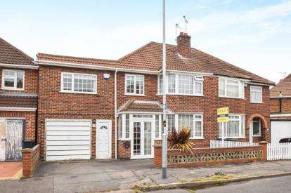 4 Bedrooms Semi Detached House for sale in Castleton Road, Wigston, Leicester, Leicestershire