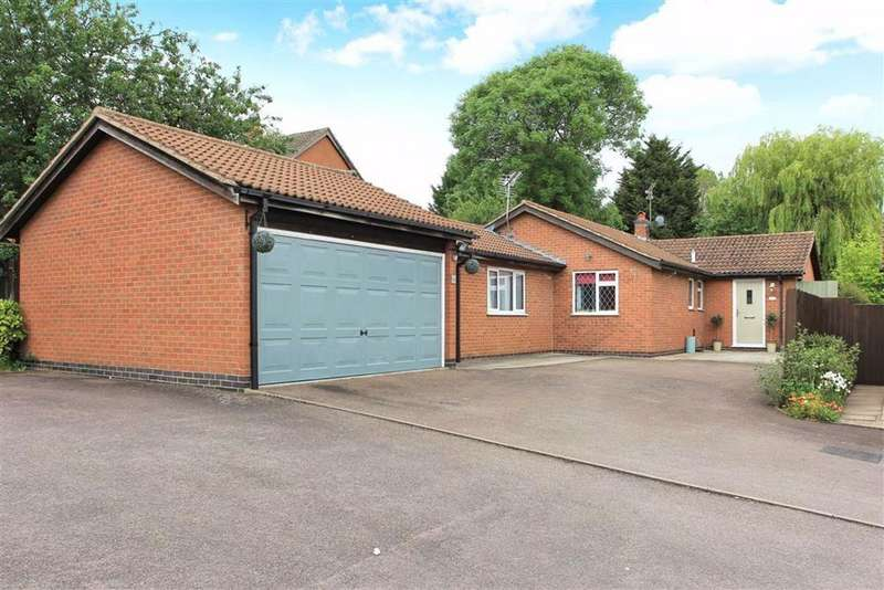 3 Bedrooms Detached Bungalow for sale in Rose Acre Close, Scraptoft, Leicester