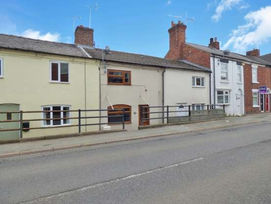 2 Bedrooms Terraced House for sale in Crewe Road, Sandbach, Cheshire, CW11 3RL
