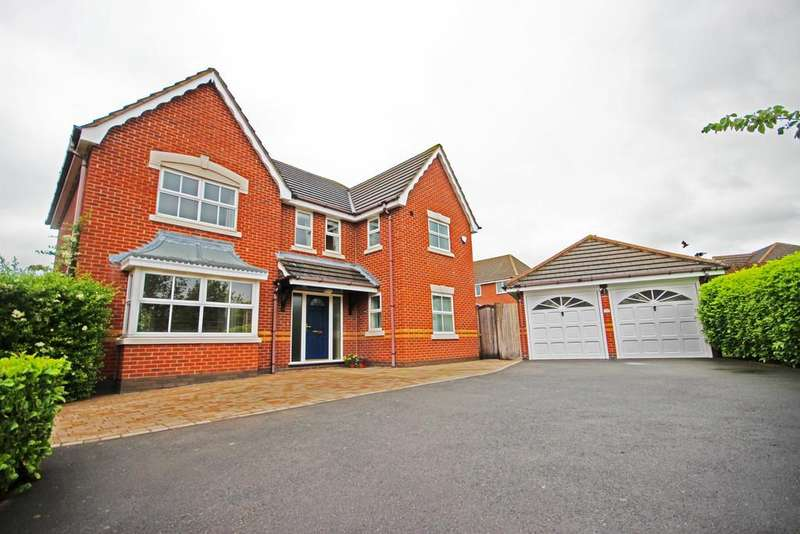 4 Bedrooms Detached House for sale in Brookfields Way, East Leake