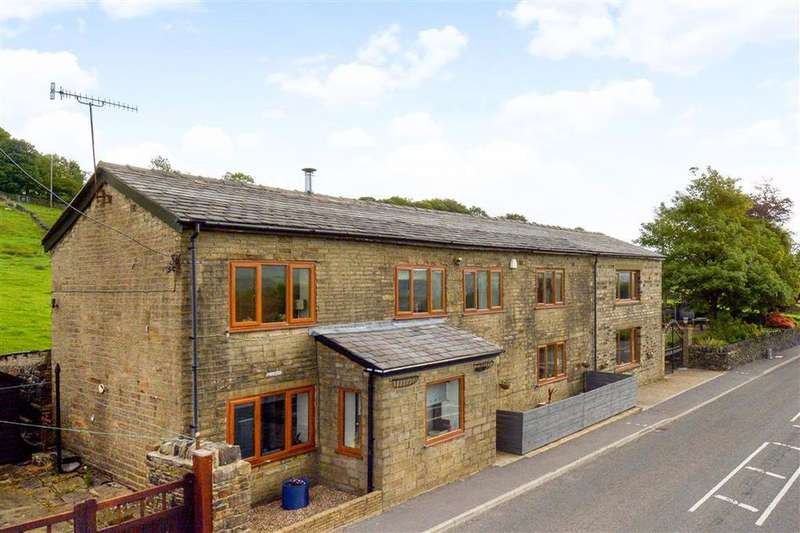 5 Bedrooms Detached House for sale in Rochdale Road, Ripponden, Sowerby Bridge, HX6