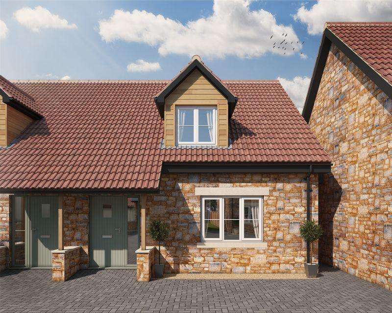 2 Bedrooms Semi Detached House for sale in Character new home in a desirable village