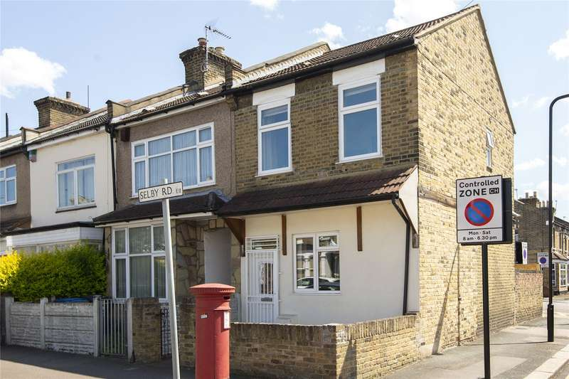 3 Bedrooms End Of Terrace House for sale in Selby Road, London, E11