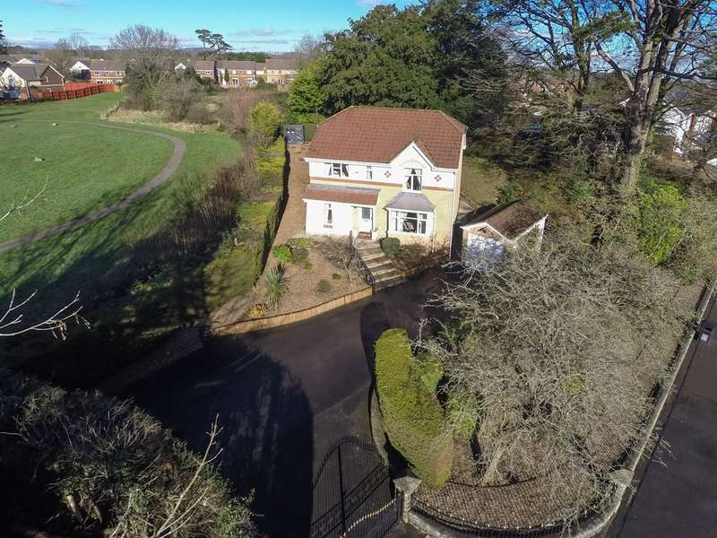 4 Bedrooms Detached House for sale in Newport Road, Old St. Mellons, Cardiff