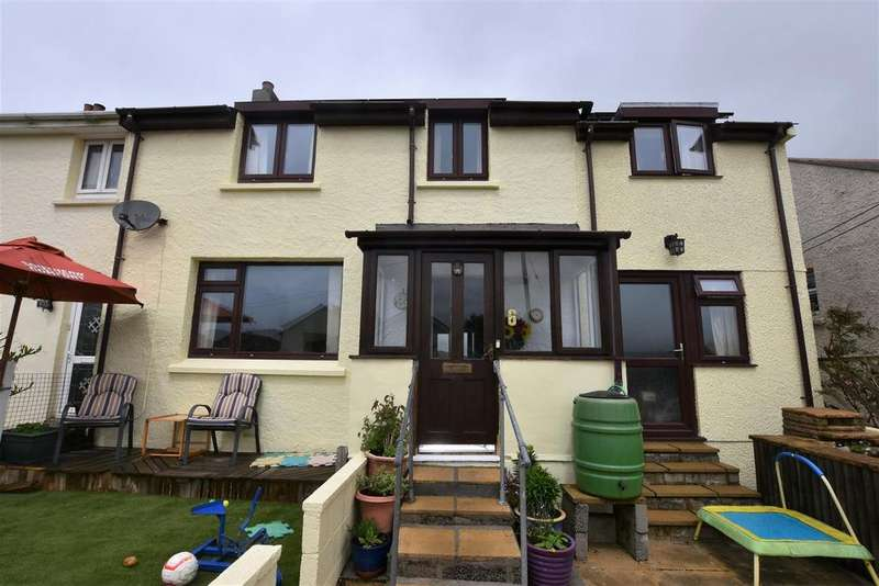 4 Bedrooms House for sale in Polhigey Terrace, Carnmenellis, Redruth