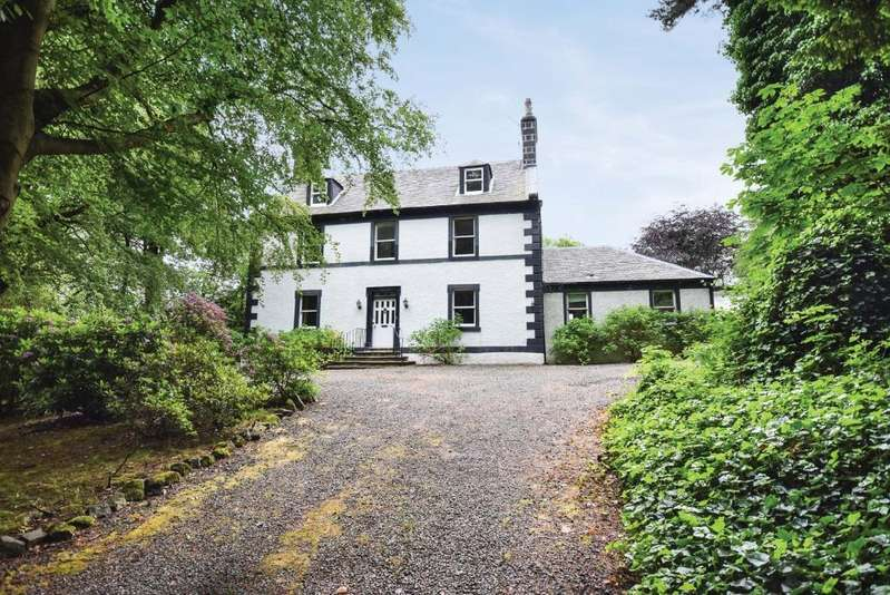 5 Bedrooms Detached House for sale in Main Road , Castlehead , Paisley , Glasgow, PA2 6AJ