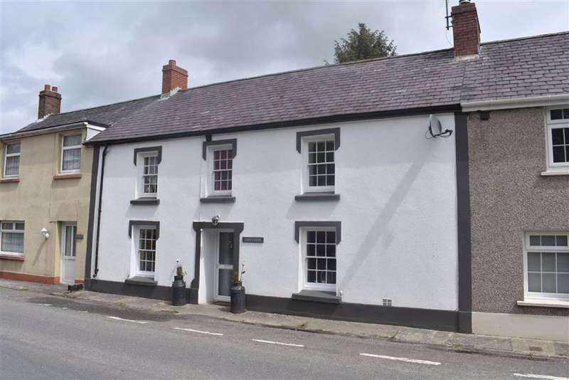 4 Bedrooms Terraced House for sale in Llanwnnen, Lampeter