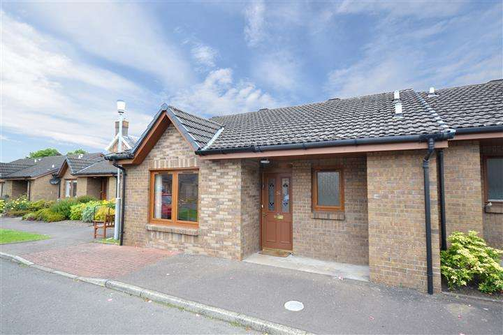 2 Bedrooms Terraced Bungalow for sale in 34 Carrick Gardens, Ayr, KA7 2RT