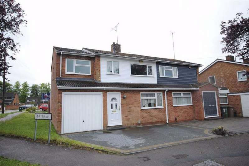 4 Bedrooms Semi Detached House for sale in Fairfax Avenue, Sundon Park, Luton