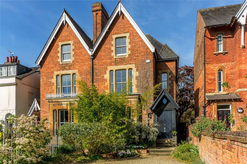 4 Bedrooms Semi Detached House for sale in Woodstock Road, Walton Manor, Oxford, OX2