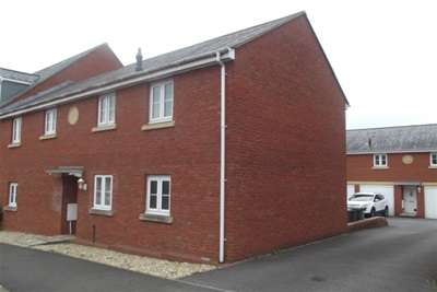 3 Bedrooms End Of Terrace House for rent in Exeter