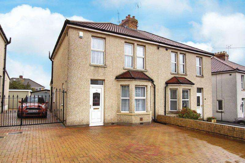 3 Bedrooms Semi Detached House for sale in Chiphouse Road, Bristol, BS15 4TS