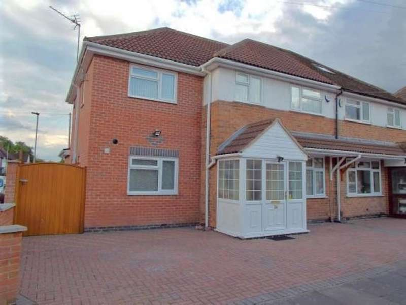 5 Bedrooms Semi Detached House for rent in Swithland Avenue, Leicester