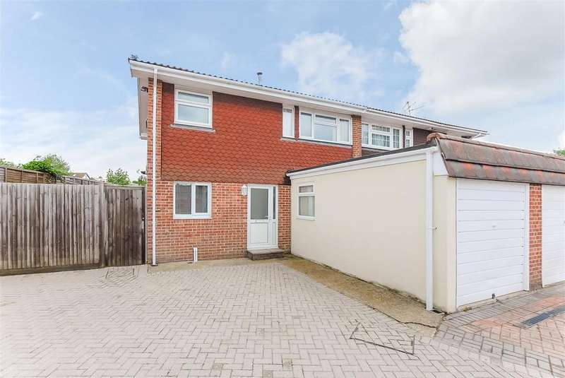 4 Bedrooms Semi Detached House for sale in Brook Path, Cippenham