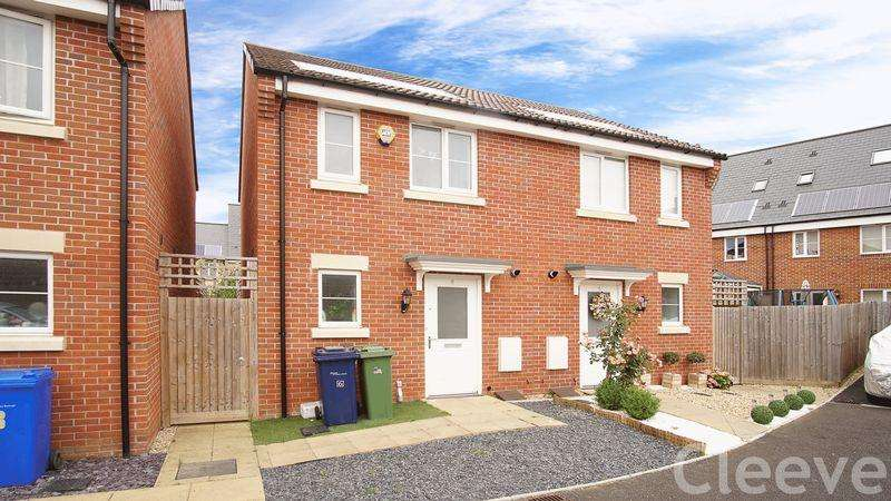 2 Bedrooms Semi Detached House for sale in Wendercliff Close, Bishops Cleeve