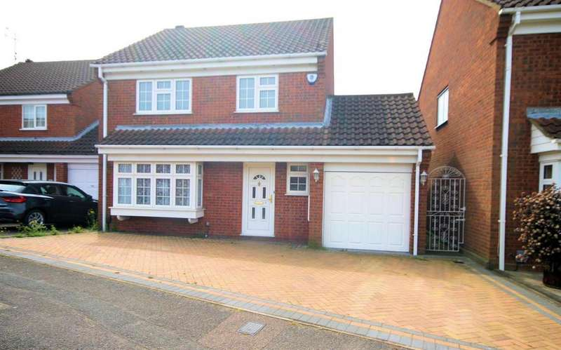 4 Bedrooms Detached House for rent in Warden Hill Development, Luton