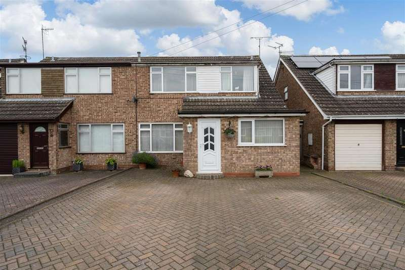 3 Bedrooms Semi Detached House for sale in Cotsmore Close, Moreton in Marsh, Gloucestershire