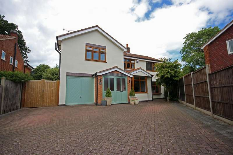 5 Bedrooms Detached House for sale in Paddock Close, Quorn