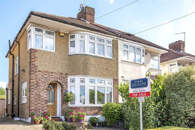 3 Bedrooms Semi Detached House for sale in The Heights, Northolt, Middlesex, UB5