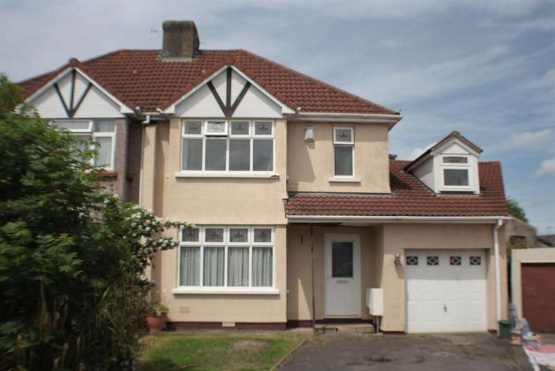 4 Bedrooms Semi Detached House for sale in Perrycroft Avenue, Bishopsworth, Bristol, BS13 7RZ