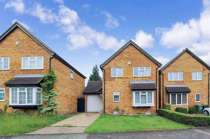 4 Bedrooms Detached House for sale in Ravenhill Way, Luton