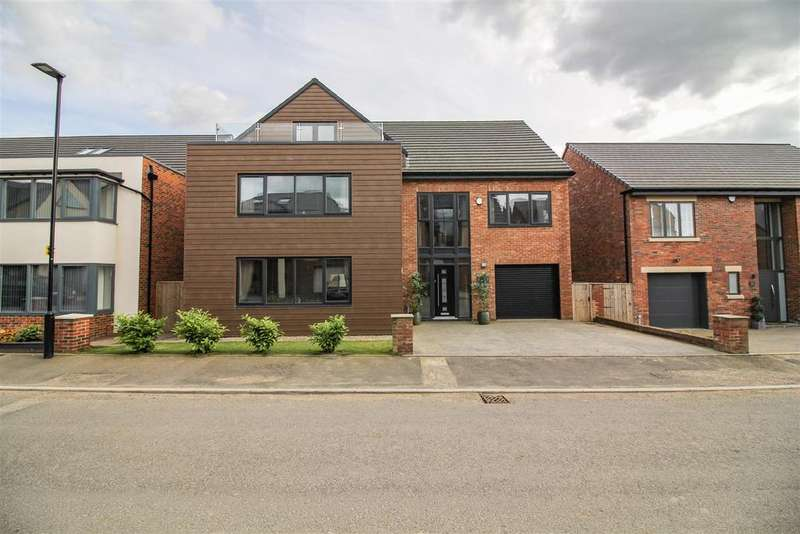 5 Bedrooms Detached House for sale in Hazelwood Road, Newcastle Upon Tyne