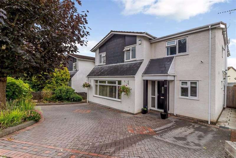 5 Bedrooms Detached House for sale in Mill Common, Magor