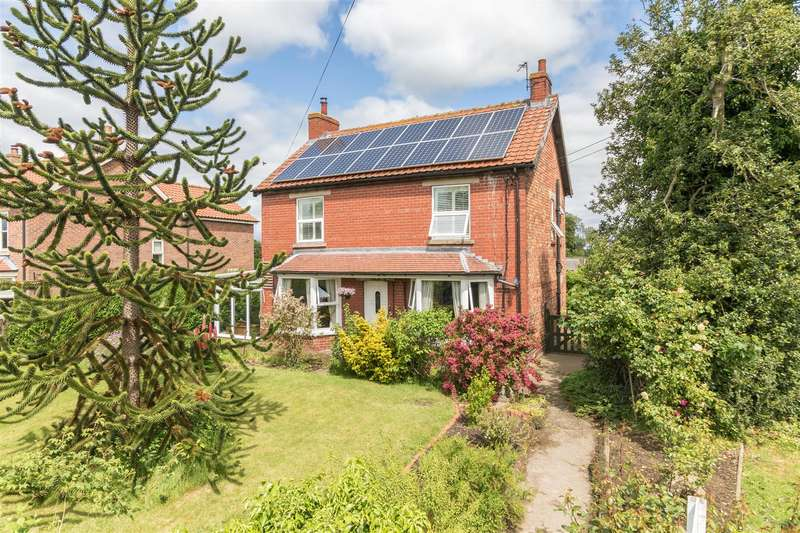 3 Bedrooms Detached House for sale in Brawby, Malton, North Yorkshire, YO17 6PY