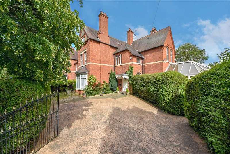 5 Bedrooms Semi Detached House for sale in Hatton Park Road, Wellingborough, Northants, NN8 5AQ
