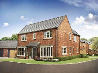 Detached House for sale in Alston Grange, Longridge, Preston, PR3