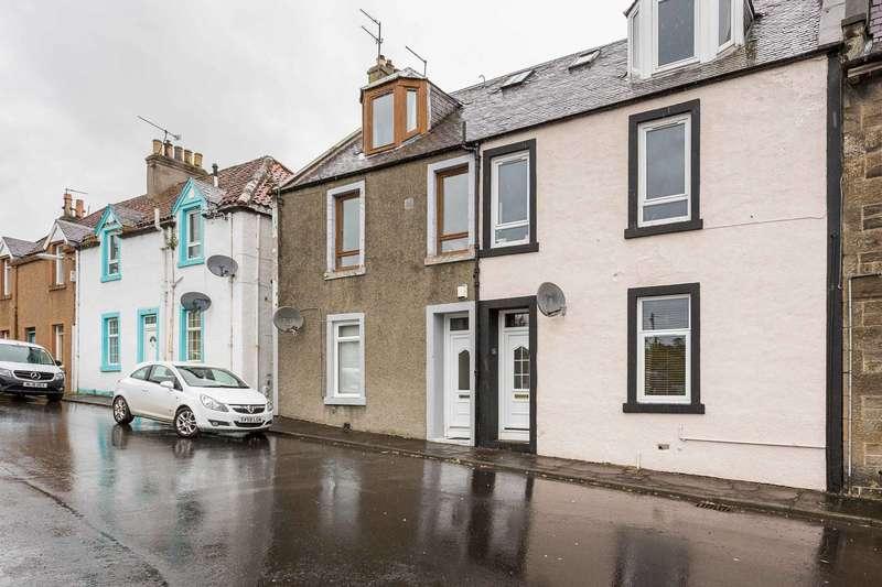 1 Bedroom Ground Flat for sale in Murrell Terrace, Aberdour, Burntisland, Fife, KY3 0XH