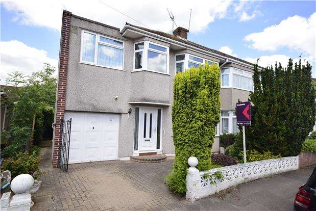 5 Bedrooms Semi Detached House for sale in Wedgewood Road, Downend, BRISTOL, BS16 6LT