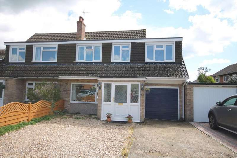 4 Bedrooms Semi Detached House for sale in Magpie Close, Thatcham, RG19